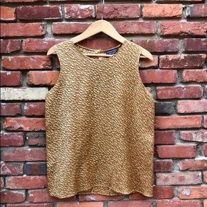 CHANEL gold blouse